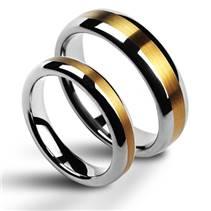 NWF1011 Pánský snubní prsten šíře 6 mm