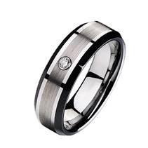 NWF1014 Dámský snubní prsten se zirkonem
