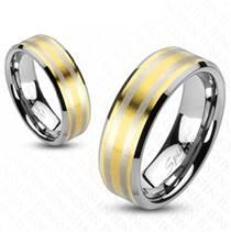 NWF1021 Snubní prsteny wolfram - pár