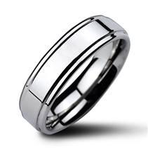 NWF1022 Pánský snubní prsten wolfram