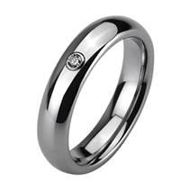 NWF1025 Dámský snubní prsten wolfram, zirkon