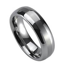 NWF1026 Pánský snubní prsten wolfram