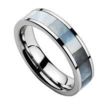 NWF1028 Pánský snubní prsten wolfram