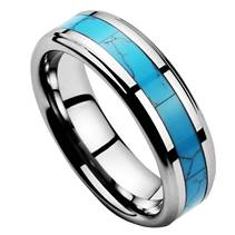 NWF1055 Pánský snubní prsten wolfram