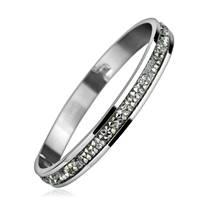 Ocelový náramek s krystaly Crystals from Swarovski® CRYSTAL CAL