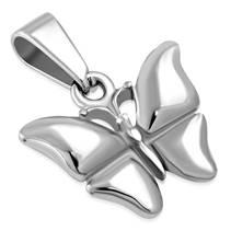 Ocelový přívěšek - motýlek