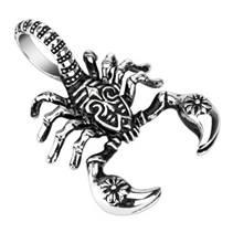 Ocelový přívěšek - škorpion