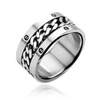 Ocelový prsten OPR1203