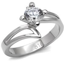 Ocelový prsten se zirkonem OPR1483