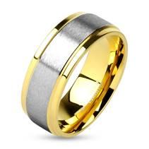 OPR0009 Pánský ocelový snubní prsten