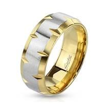OPR0010 Dámský ocelový snubní prsten