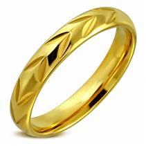 OPR0024 Pánský snubní prsten, šíře 4 mm
