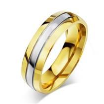 OPR0055 Pánský snubní ocelový prsten