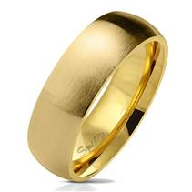 OPR0070 Pánský zlacený snubní prsten