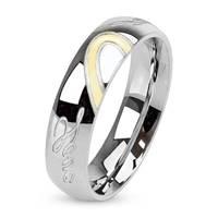 OPR1015 Dámský snubní prsten LOVE