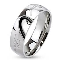 OPR1015 Pánský snubní prsten LOVE