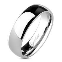 OPR1234 Dámský snubní prsten šíře 6 mm