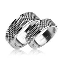 OPR1324 Snubní prsteny ocel - pár