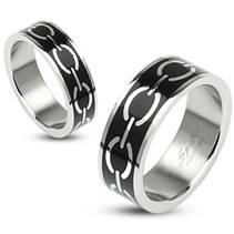 OPR1330 Snubní prsteny ocel - pár