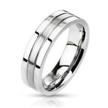 OPR1406 Pánský snubní prsten šíře 6 mm