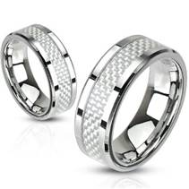 OPR1446 Snubní prsteny ocel - pár