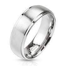 OPR1454 Pánský snubní prsten šíře 8 mm