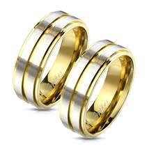 OPR1764 Snubní prsteny ocel - pár