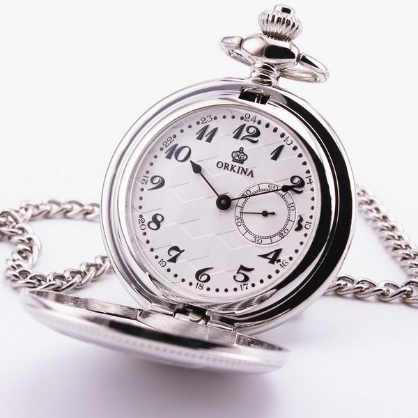 56dfc1f65 Otevírací kapesní hodinky - cibule | Šperky4U.eu