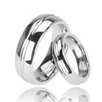 Pánský prsten wolfram, šíře 8 mm, vel. 70
