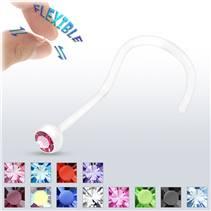 Piercing do nosu BioFlex