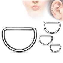 Piercing do nosu/ucha