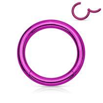 Piercing segment kruh - fialový