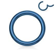 Piercing segment kruh - modrý
