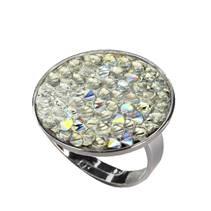Prsten s krystaly Crystals from Swarovski® CRYSTAL AB