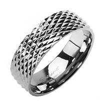 Prsten titan, šíře 8 mm