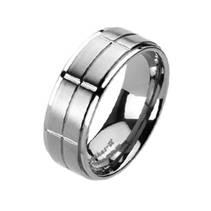 Prsten titan, šíře 8 mm, vel. 60