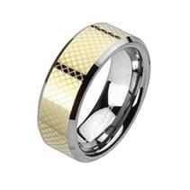 Prsten wolfram, šíře 6 mm, vel. 52