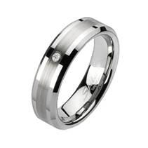 Prsten wolfram, šíře 7 mm