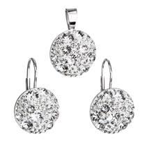 Sada šperků s kamínky Crystals from Swarovski® Crystal