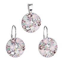 Sada šperků s kamínky Crystals from Swarovski® Magic Rose
