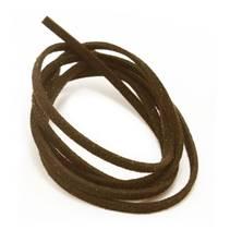Semišová šňůrka hnědá 2,5 mm, délka 100 cm