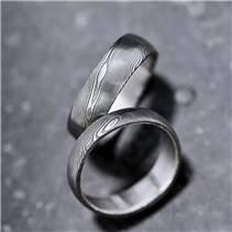 Snubní prsteny Damasteel Prima - pár