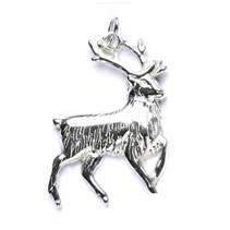 Stříbrný přívěšek - jelen
