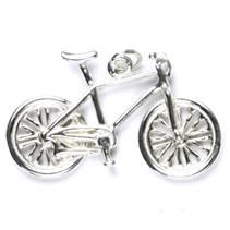 Stříbrný přívěšek - kolo