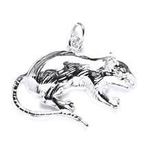 Stříbrný přívěšek - krysa
