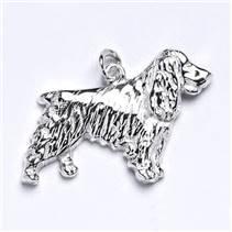 Stříbrný přívěšek pes kokršpaněl