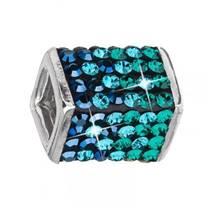 Stříbrný přívěšek s krystaly Swarovski® Magic Green