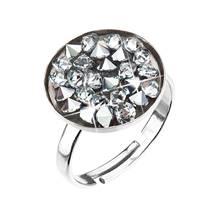 Stříbrný prsten ROCKS Crystals from Swarovski® CRYSTAL CAL