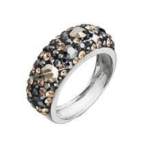 Stříbrný prsten s krystaly Crystals from Swarovski®, Colorado