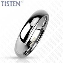 TIS0001 pánský snubní prsten tisten 4 mm